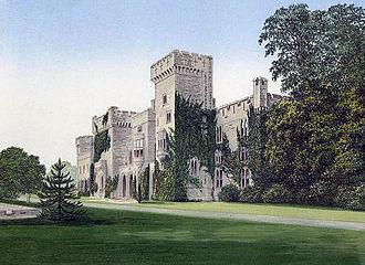 Downton Castle - Downton Castle in 1880