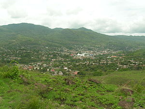 Matagalpa, Nicaragua - View of downtown from one of the surrounding hills