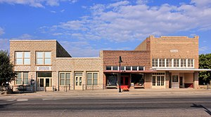 Throckmorton, Texas - Downtown Throckmorton in 2015