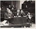 Dr. A. Horlik-Hochwald listens as Dr. Robert Servatius enters an objection to the court.jpg