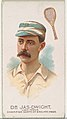 Dr. James Dwight, Lawn Tennis Champion North of England 1885, from World's Champions, Series 2 (N29) for Allen & Ginter Cigarettes MET DP838248.jpg