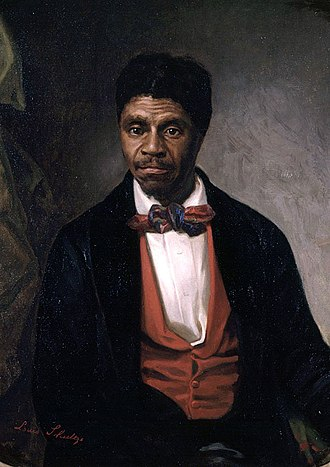 "Citizenship - Portrait of Dred Scott, plaintiff in the infamous Dred Scott v. Sandford case at the Supreme Court of the United States, commissioned by a ""group of Negro citizens"" and presented to the Missouri Historical Society, St. Louis, in 1888"
