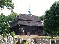Drewniany kościół we wsi Święty Marek niedaleko Sycowa.jpg