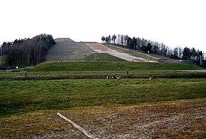 Watermead, Buckinghamshire - Dry ski slope in Watermead, Aylesbury