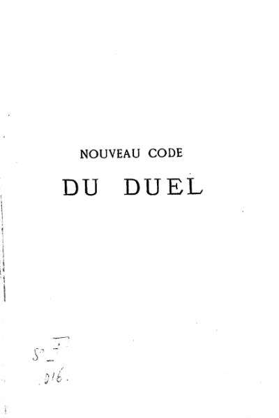 File:Du Verger de Saint-Thomas - Nouveau code du duel, 1879.djvu