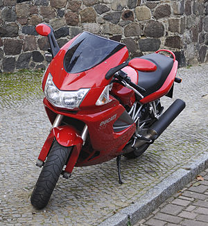 Ducati ST series - Ducati ST3 with later front end