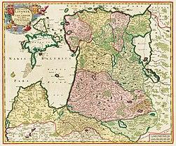 Ducatuum Livoniae et Curlandiae Nova Tabula, 1705.jpg