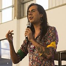 Дуда Салаберт на мероприятии в 2018 году