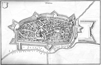 Duisburg in the 17th century