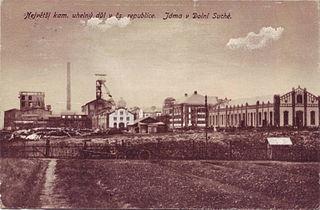 Dukla coal mine closed coal mine in the Czech Republic