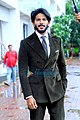 Dulquer Salmaan snapped promoting their film The Zoya Factor on sets of Dance India Dance.jpg