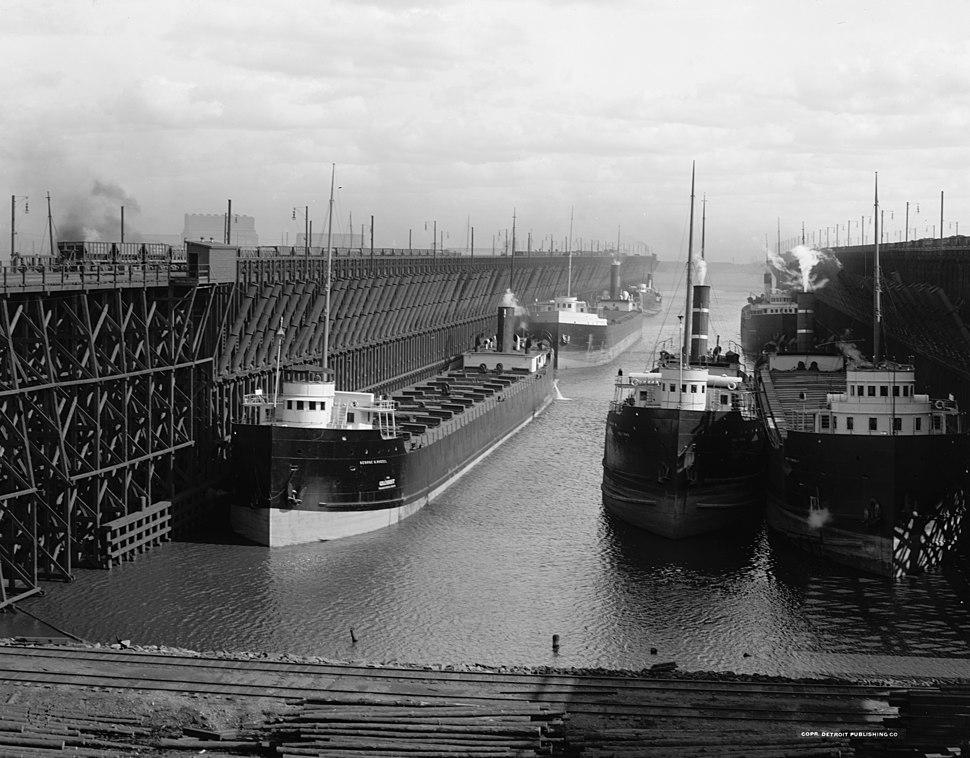 Duluth Ore Docks