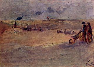 Landscape with Dunes and Figures