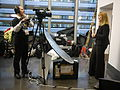 During video session - Wikipedians in European Parliament - 2014-02-05- P1760942.JPG