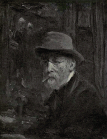 Dutch Painting in the 19th Century - Jozef Israels - Portrait of Himself.png