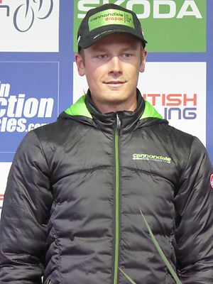 Dylan van Baarle - Van Baarle at the 2016 Tour of Britain