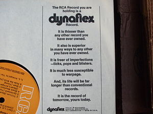 Dynaflex (RCA) - An RCA Inner sleeve touts the benefits of Dynaflex.