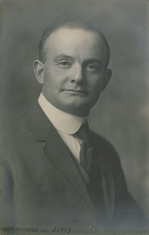 Ernest Charles Drury - The Hon. Ernest Charles Drury in 1920