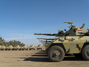 EE-9 Cascavel - EE-9 Cascavels of the Iraqi 9th Division, 2008