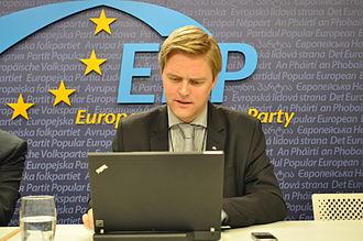 Christian Holm (Swedish politician) - Christian Holm (2011)