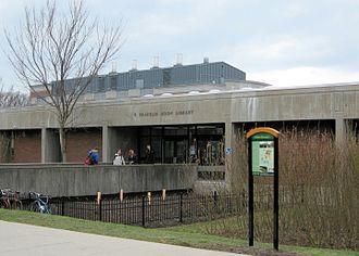 F. Franklin Moon - F. Franklin Moon Library, SUNY-ESF, Syracuse, New York