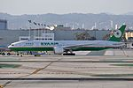 EVA Airways, Boeing 777-35E(ER), B-16717 - LAX (21245918056).jpg