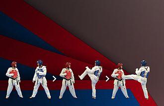 Kick - Taekwondo front push kick