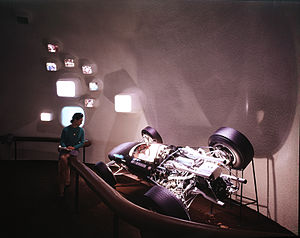 BRM P115 - A BRM P109 similar to the P115 on display at Expo 67