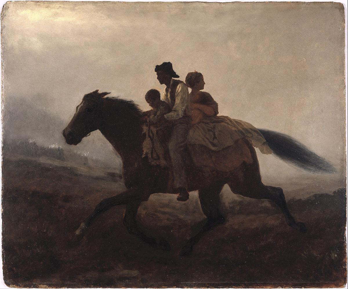 Eastman Johnson - A Ride for Liberty -- The Fugitive Slaves - Google Art Project.jpg
