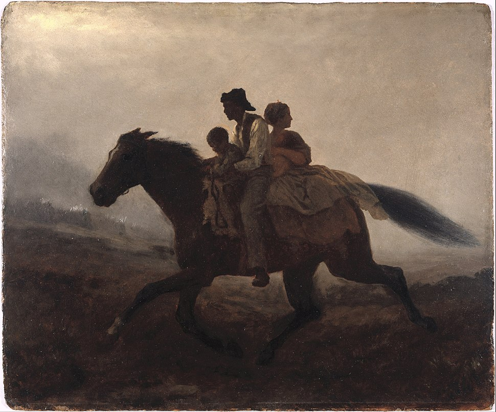 Eastman Johnson - A Ride for Liberty -- The Fugitive Slaves - Google Art Project