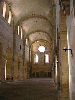 Eberbach Abteikirche nach Westen