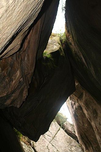 Edakkal Caves - Image: Edakkal Cave