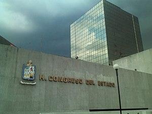 Congress of Nuevo León - Image: Edificio del Congreso