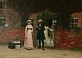 Edmund Blair Leighton - Waiting for the coach.jpg