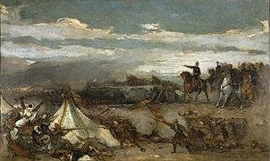 Eduardo Rosales Gallinas - Episodio de la Batalla de Tetuán