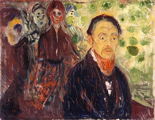 Edvard Munch - Taken by Surprise