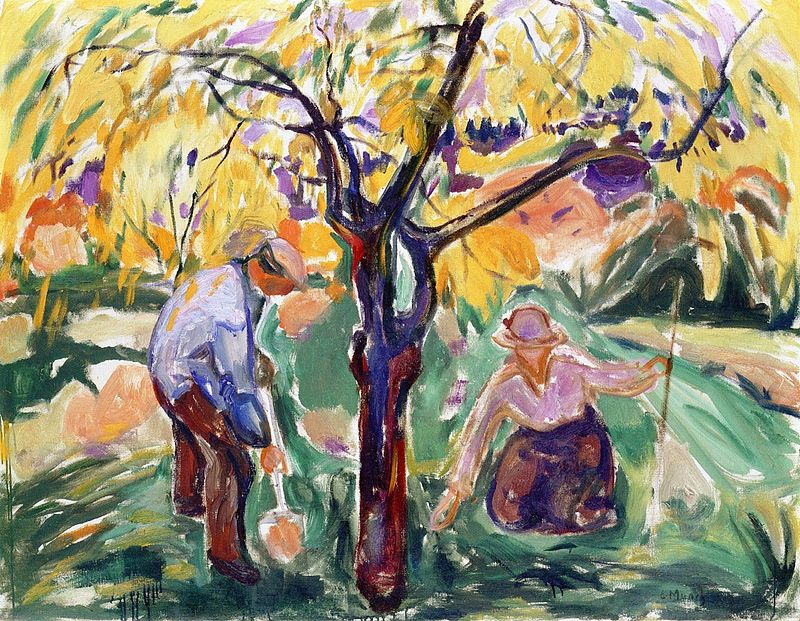 Edvard Munch - The Apple Tree (1921).jpg