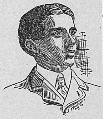 Edward Kenna (American football) - Portrait of Kenna in The Richmond Dispatch, October 14, 1900