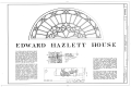 Edward Hazlett House, 823 Main Street, Wheeling, Ohio County, WV HABS WVA,35-WHEEL,37- (sheet 1 of 6).png