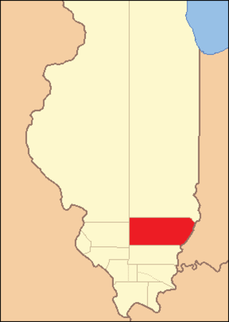 Edwards County, Illinois - Image: Edwards County Illinois 1816