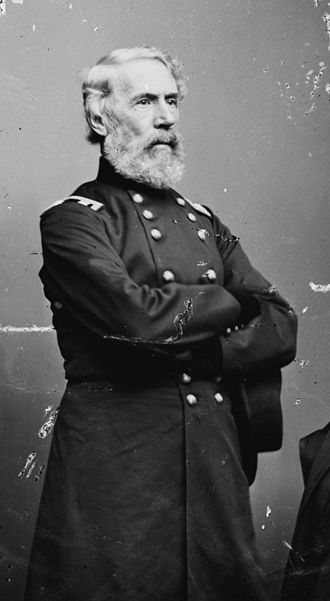 Edwin Vose Sumner - An image of Sumner by Mathew Brady or Levin C. Handy