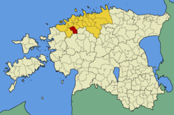 Kernu Parish within Harju County.