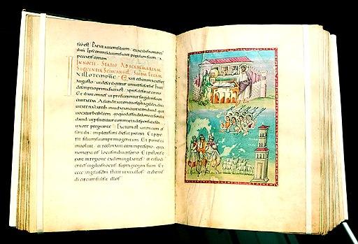 Der Egbert codex (STadtbibliothek Trier) zählt zum UNESCO-Weltdokumentenerbe Reichenauer Handschriften