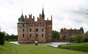Egeskov Castle - Image: Egeskov Slot A3