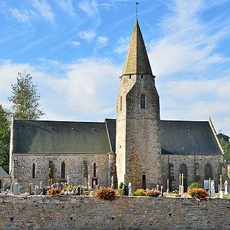 Benoîtville - The church of Saint-Pierre