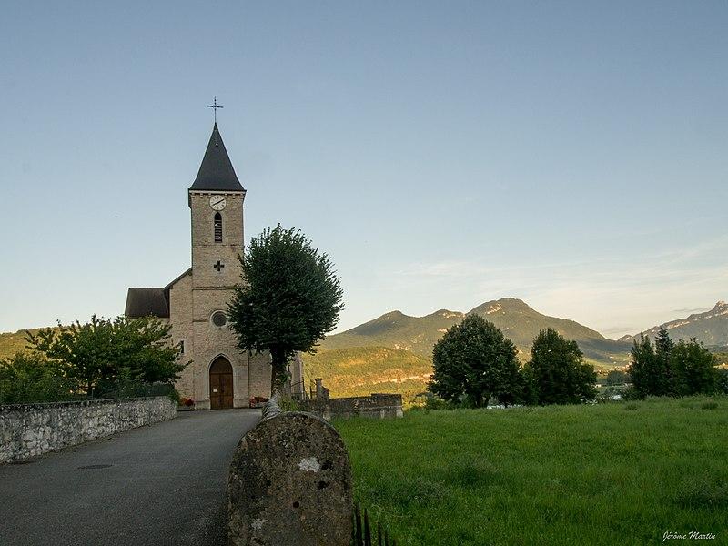 Eglise de Cressin-Rochefort