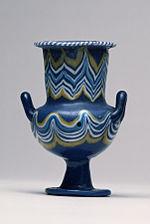 "Egyptian - ""Malqata Kateriskos"" Vessel - Walters 4732 - Profile"