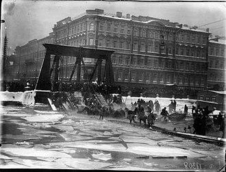 Egyptian Bridge - The 1905 collapse