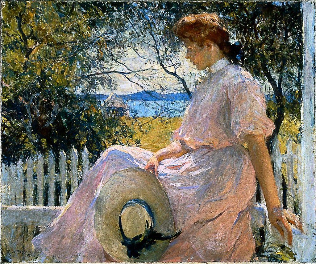 Элеонора 1907 Фрэнк Уэстон Benson.jpg