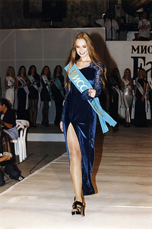 Henkel - Elena Khlibko is Miss Fa Nizhny Novgorod Beauty Queen 1997